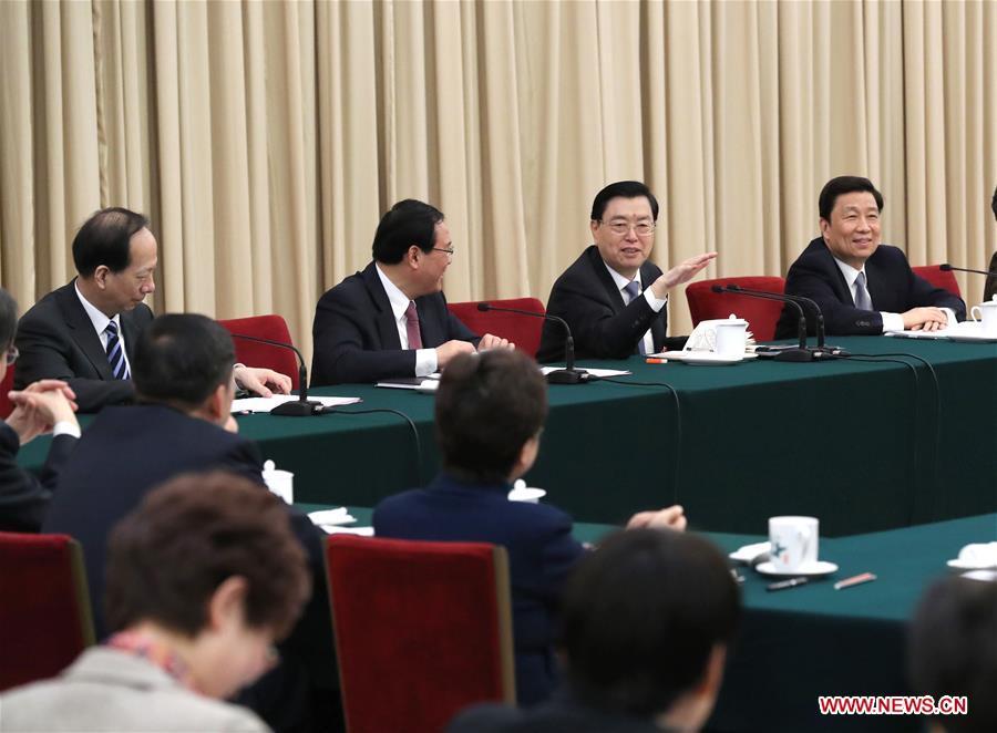 Zhang Dejiang, chairman of the Standing Committee of China