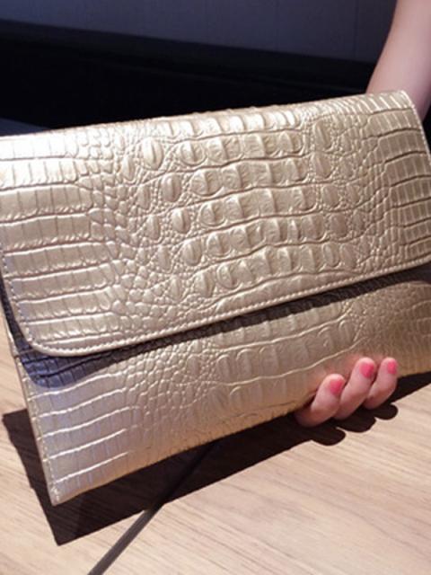 金银色潮时尚单品 包包鞋子亮晶晶