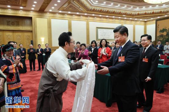 3月8日上午习近平总书记参加四川代表团审议