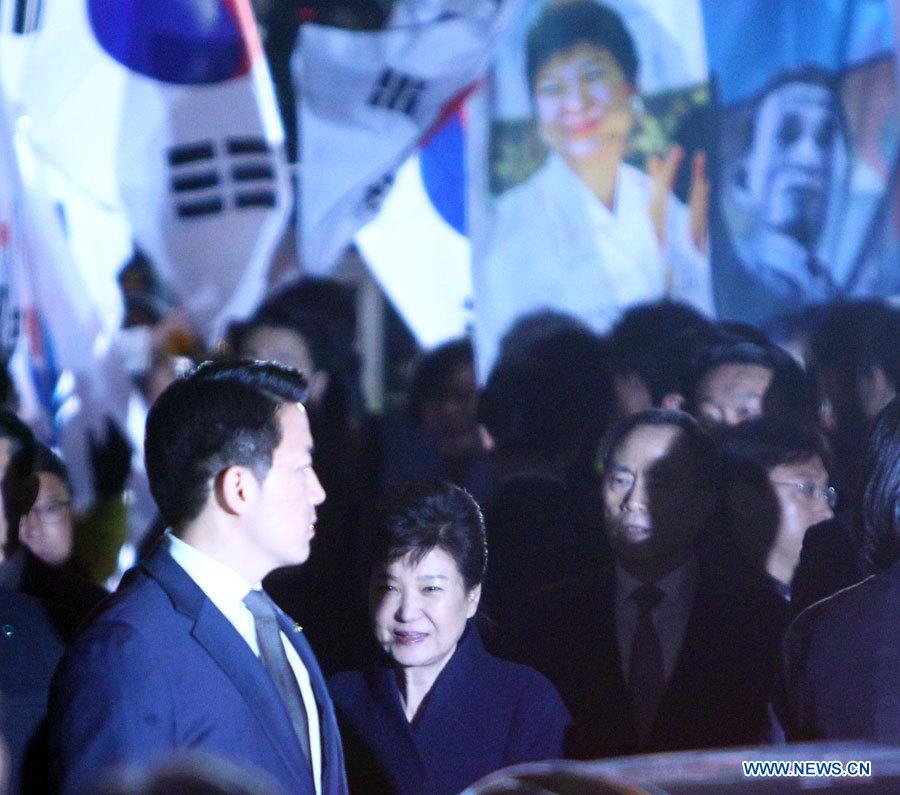 La présidente sud-coréenne destituée présente ses excuses pour son mandat présidentiel inachevé