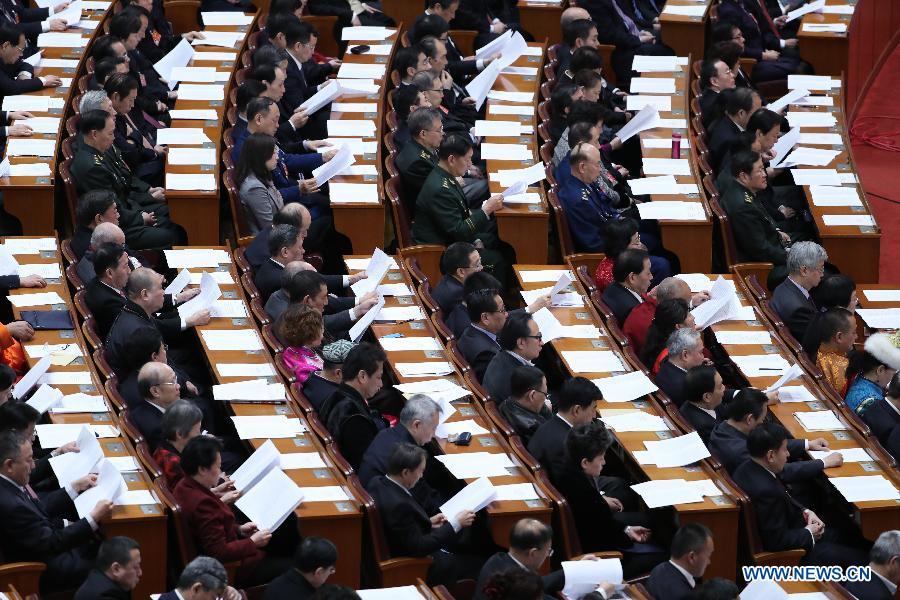 Chine : clôture de la session annuelle de la CCPPC