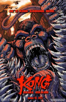 金刚掰开骷髅爬虫巨嘴BY Kaiju Samurai