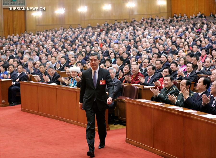 Лян Чжэньин избран заместителем председателя ВК НПКСК