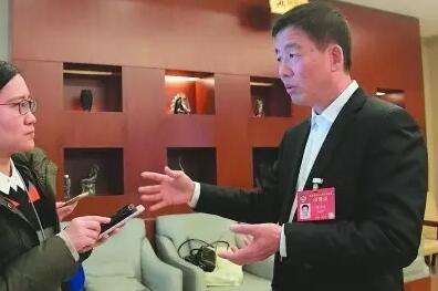 住闽全国政协委员骆沙鸣接受本报记者采访