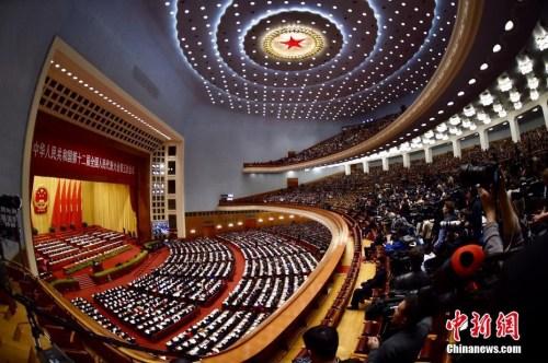 3月5日,十二届全国人大五次会议在北京人民大会堂开幕。