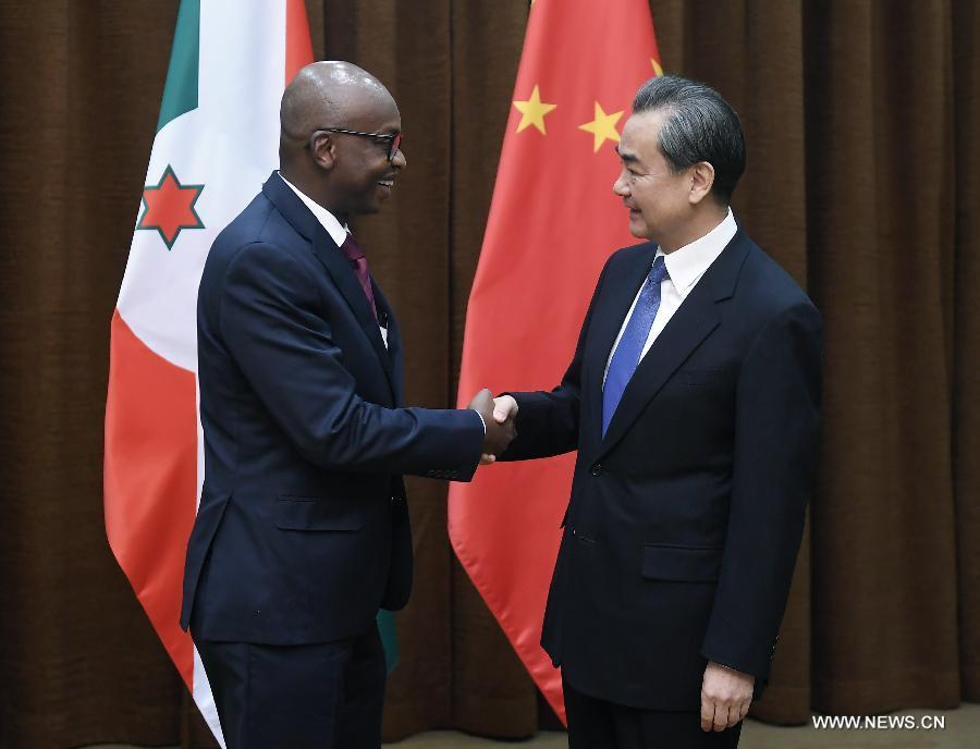 La Chine et le Burundi s