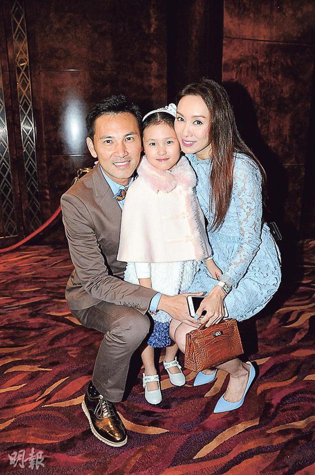 郭可盈与老公林文龙希望陪伴女儿成长