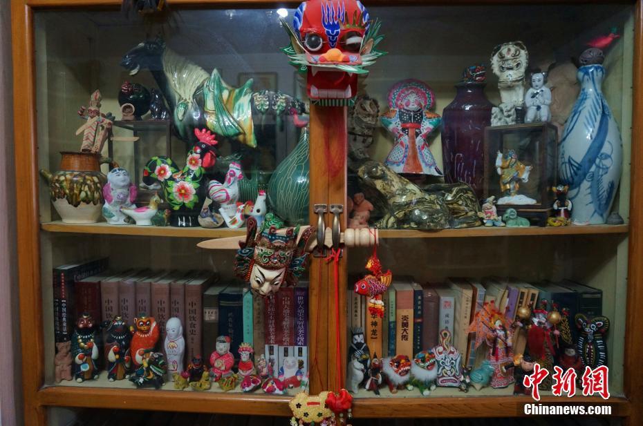 Immenses collections folkloriques d'un octogénaire chinois pendant 65 ans