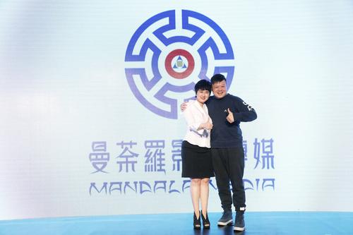左:曼荼罗影视创始人、董事长张语芯   右:米未传媒创始人兼CEO马东