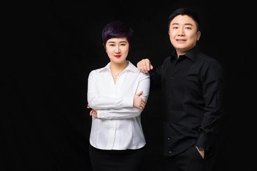 左:曼荼罗影视创始人、董事长张语芯  右:曼荼罗影视合伙人、副总裁唐锐