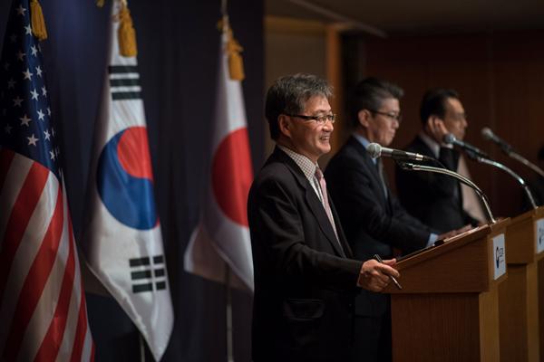 Une délégation américaine arrive en Corée du Sud