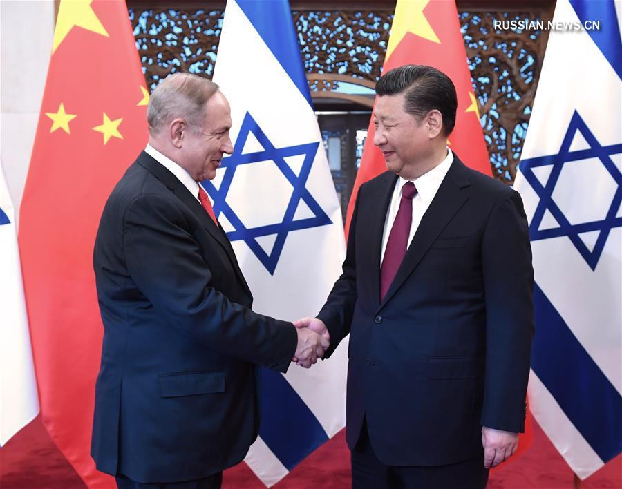 Премьер-министр Израиля и председатель КНР провели переговоры