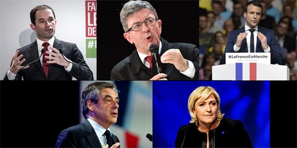 Premier débat télévisé de certains candidats à l
