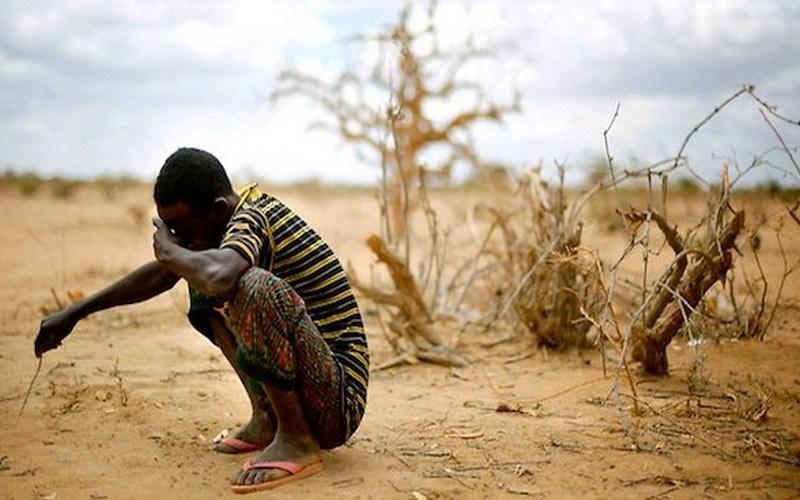 Des dizaines de personnes quittent leurs villages à la recherche de nourriture et d