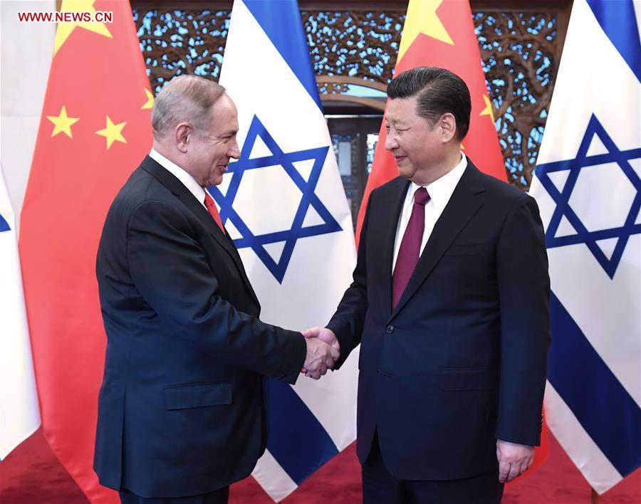 La Chine et Israël annoncent la création d