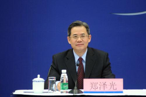 Чжэн Цзэгуан, Заместитель министра иностранных дел КНР
