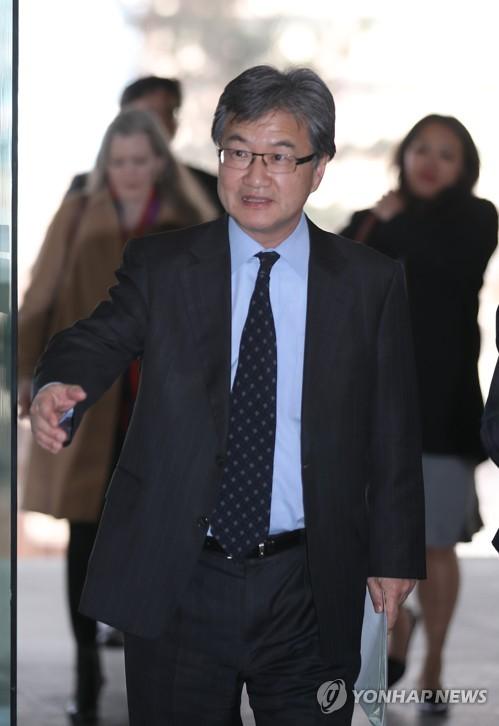 Un émissaire américain arrive à Séoul