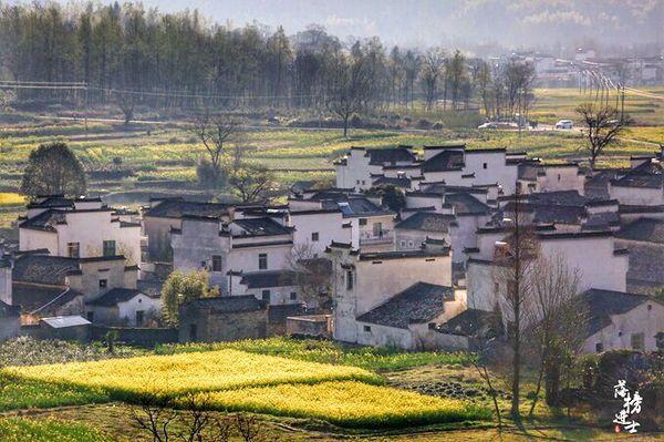 中国最美春色城市_【最美春天】卢村,宏村隔壁的绝美村庄