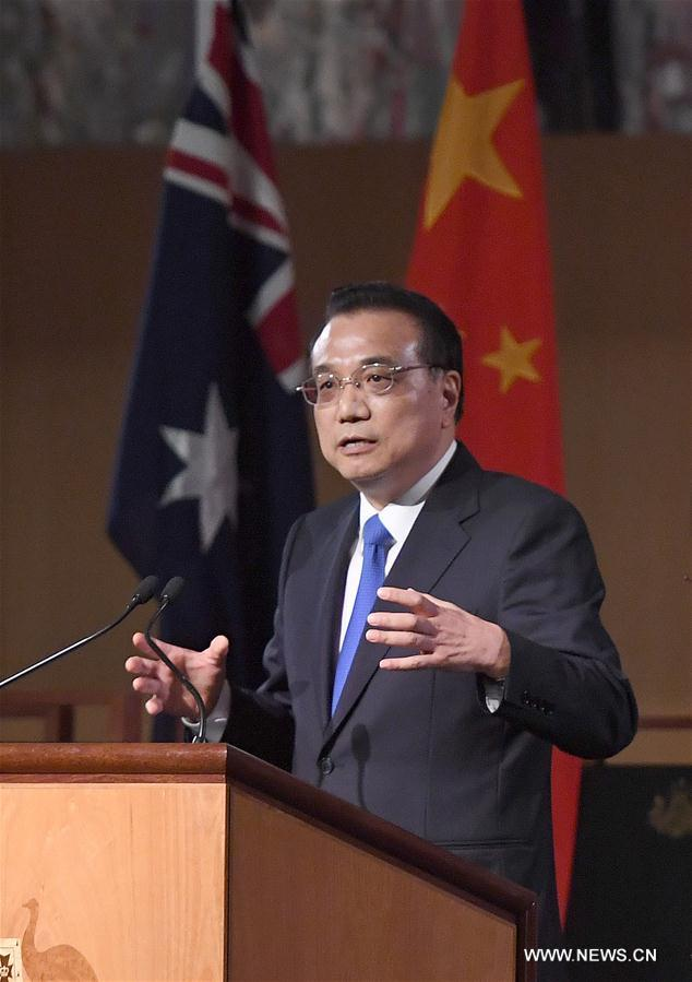 Le Premier ministre chinois promet de s