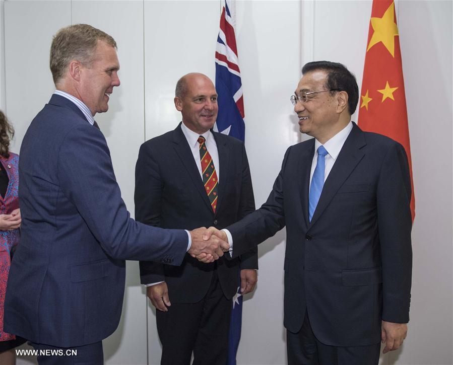 Le PM chinois rencontre les dirigeants du Parlement australien