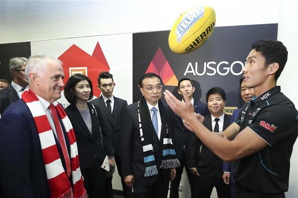 دبلوماسية الهواء الطلق الصينية في استراليا تنشط العلاقات