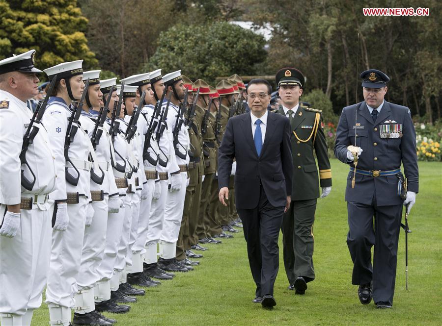 La Chine et la Nouvelle-Zélande souhaitent renforcer leurs relations commerciales et promouvoir la mondialisation économique