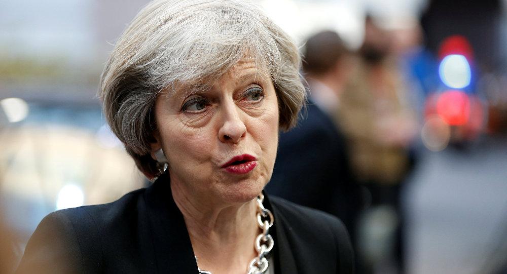 La Première ministre britannique s