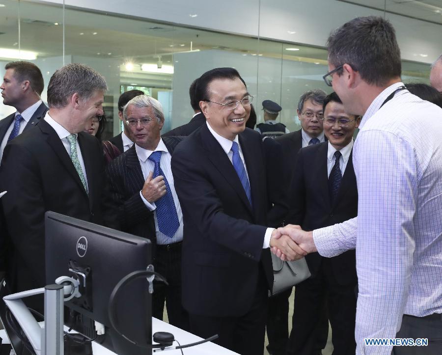 Le PM chinois appelle à une coopération plus étroite avec la Nouvelle-Zélande en matière d