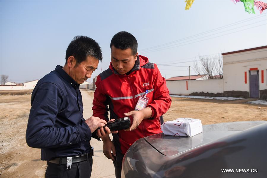 La Chine représente plus de 40% du volume mondial de la livraison express de colis