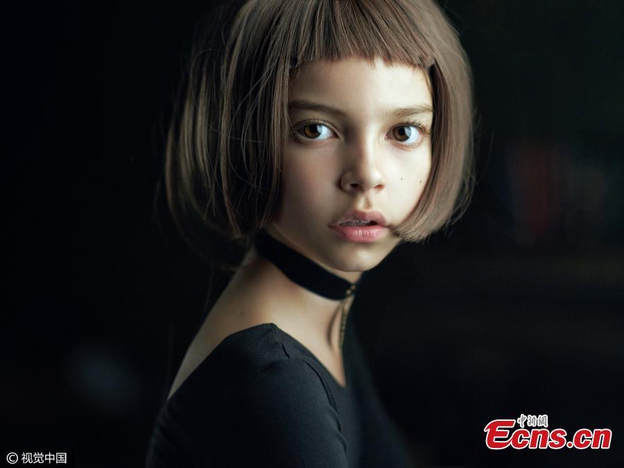 "Portraits winner: Mathilda by Alexander Vinogradov, Russian Federation. ""Inspired by the movie Leon. Model: Anastasiya Marinina."" (Photo/CFP)"