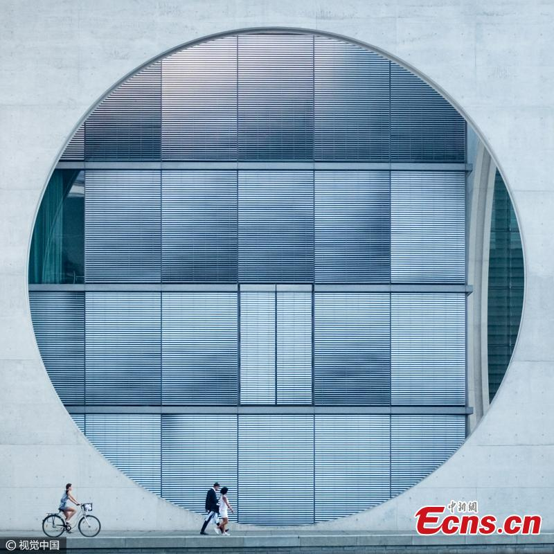"""Architecture winner: Concrete Circle by Tim Cornbill, UK. """"Having just arrived in Berlin on a bright summer"""