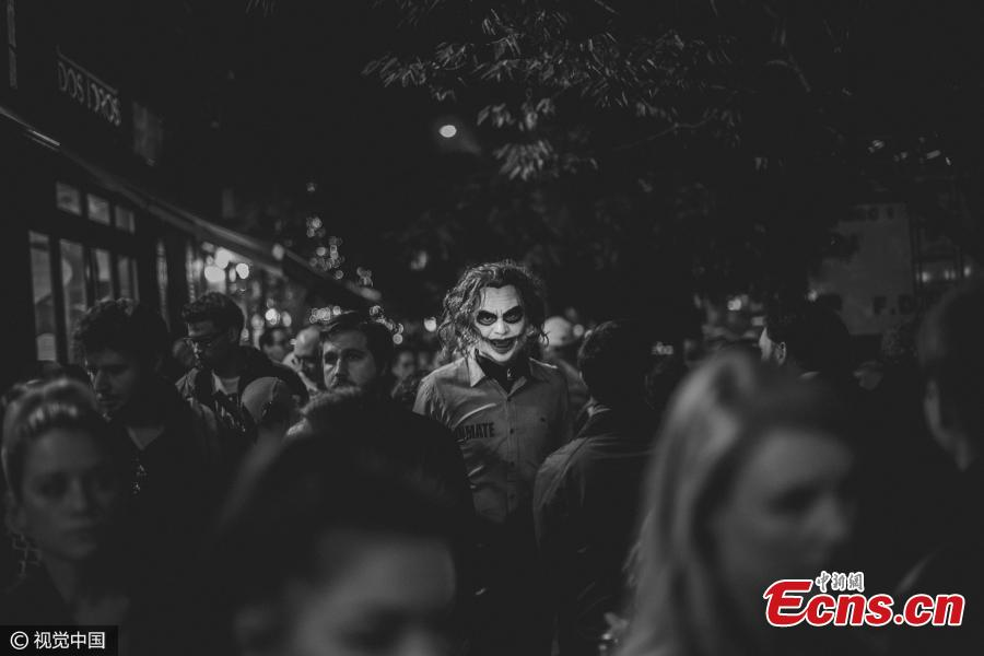 """Street Photography winner: Halloween Protagonists by Constantinos Sofikitis, Greece. """"Halloween in NYC, one of the world"""