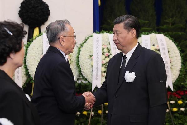 قادة صينيون يحضرون جنازة مستشار سياسي كبير سابق