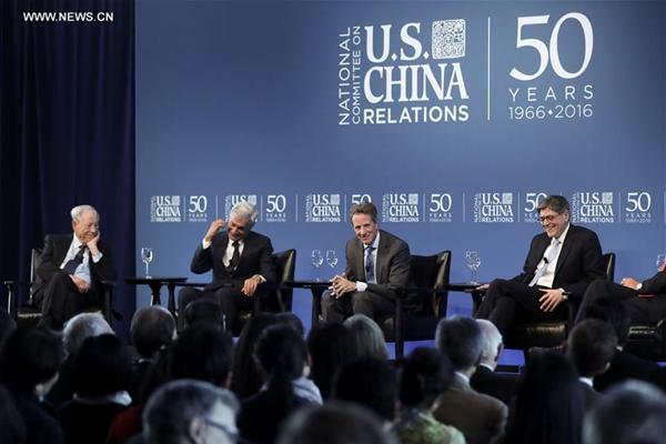وزراء مالية أمريكيون سابقون: الخلافات الصغيرة لا يجب أن تقوض العلاقات الاقتصادية الأمريكية-الصينية