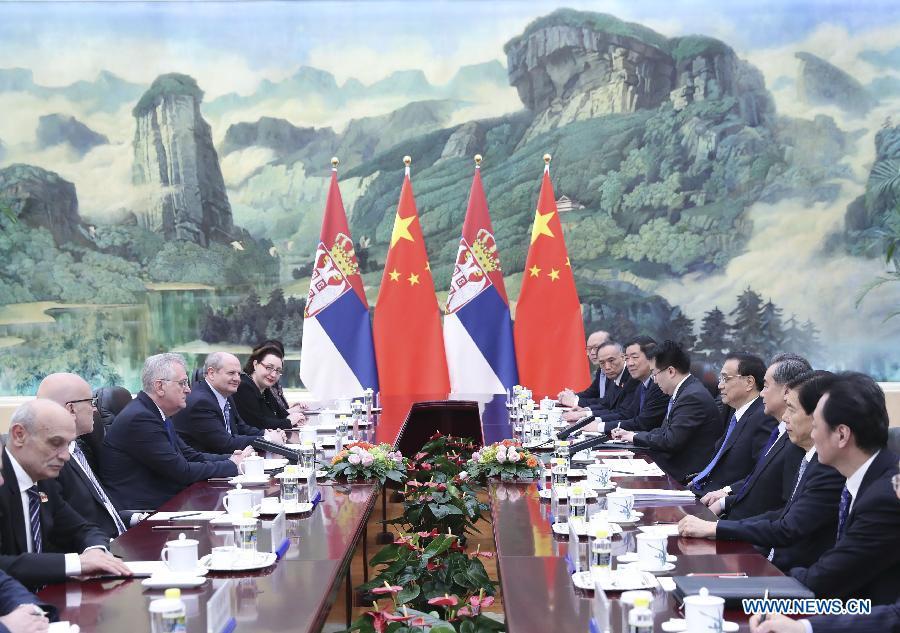 La Chine appelle à davantage de coopération avec la Serbie dans le cadre du mécanisme 16+1
