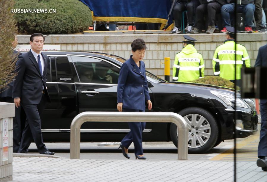 Суд выдал ордер на арест экс-президента Республики Корея Пак Кын Хе
