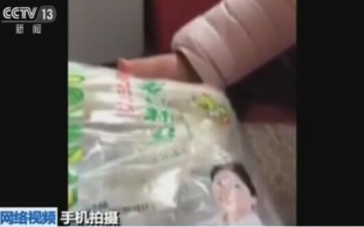 视频纷传:粉丝掺塑料 紫菜塑料造
