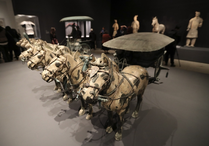 The centerpiece is the world famous Terracotta Warriors excavated from the mausoleum of China