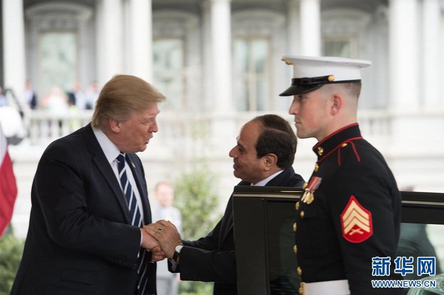Le président al-Sissi chaleureusement accueilli à la Maison Blanche