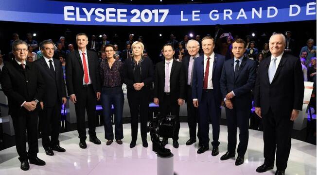 Un débat télévisé entre les 11 candidats est prévu mardi soir