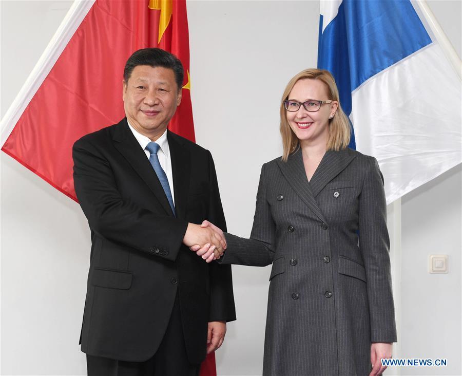 Xi Jinping exhorte les corps législatifs chinois et finlandais à maintenir leurs échanges