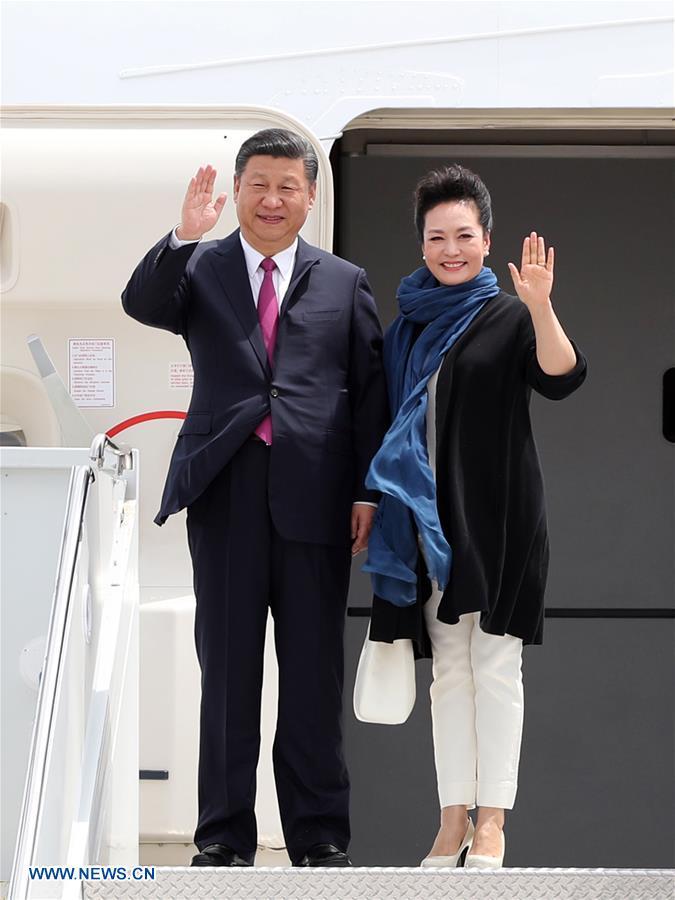 Le président chinois Xi Jinping est arrivé en Floride pour une première rencontre avec Trump