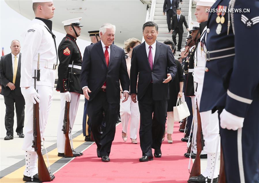 Си Цзиньпин прибыл специальным бортом в американский штат Флорида