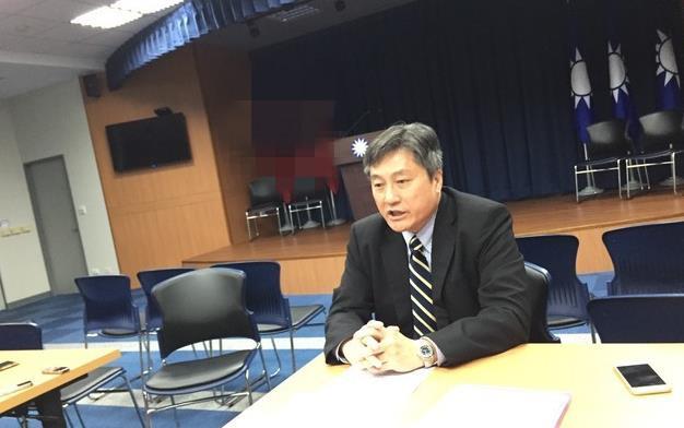 国民党行管会副主委李福轩。(图片取自台媒)