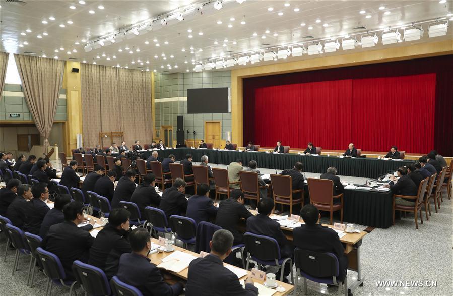 Un vice-Premier ministre chinois appelle à contrôler le développement de l