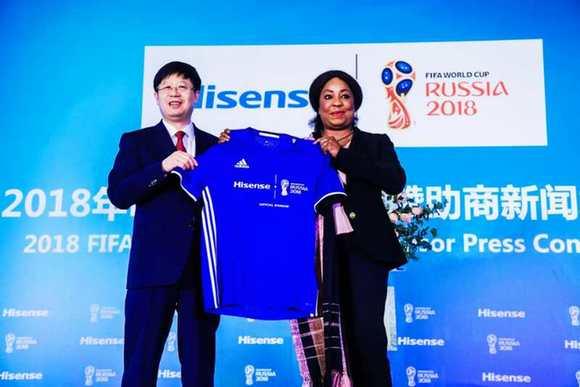 Hisense Electric devient sponsor officiel de la Fédération internationale de football association
