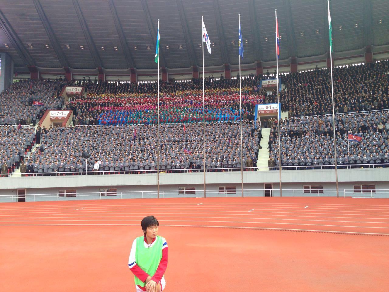女足亚洲杯预选赛B组焦点战打响 韩国1:1战平