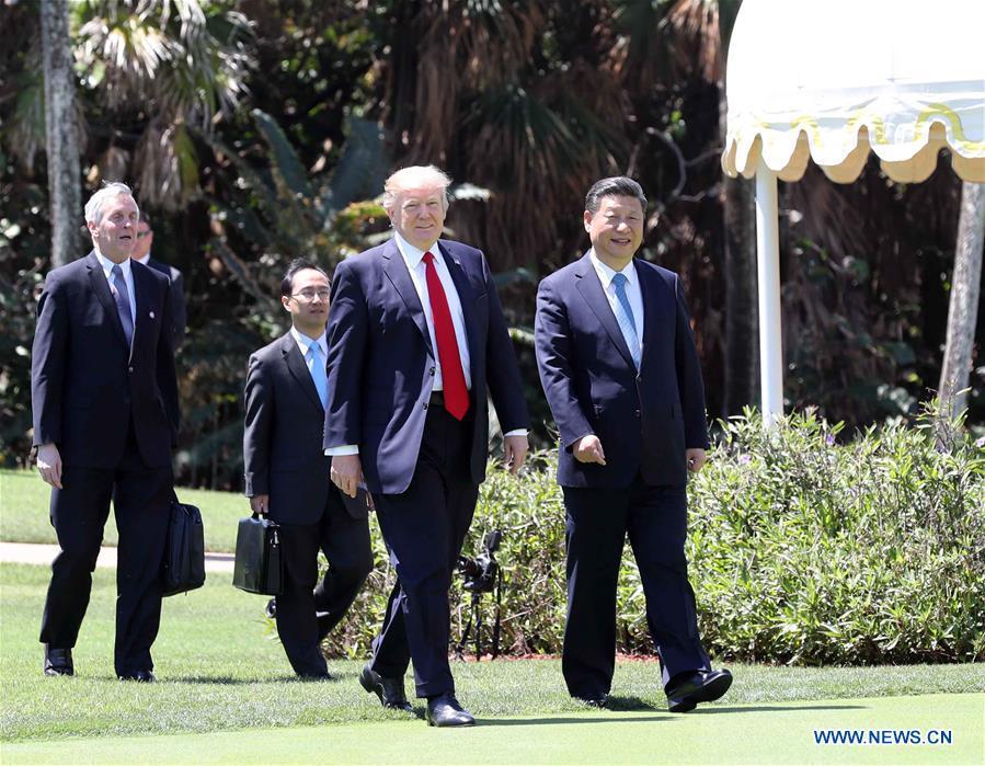 Xi Jinping et Donald Trump s
