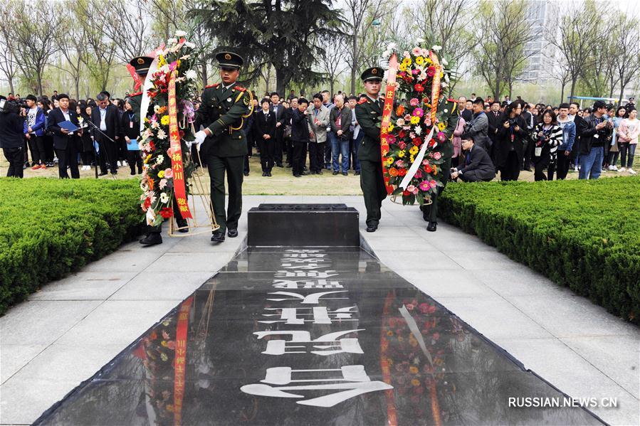 В пров. Шаньдун прошли мероприятия, посвященные 79-й годовщине битвы в селе Тайэрчжуан