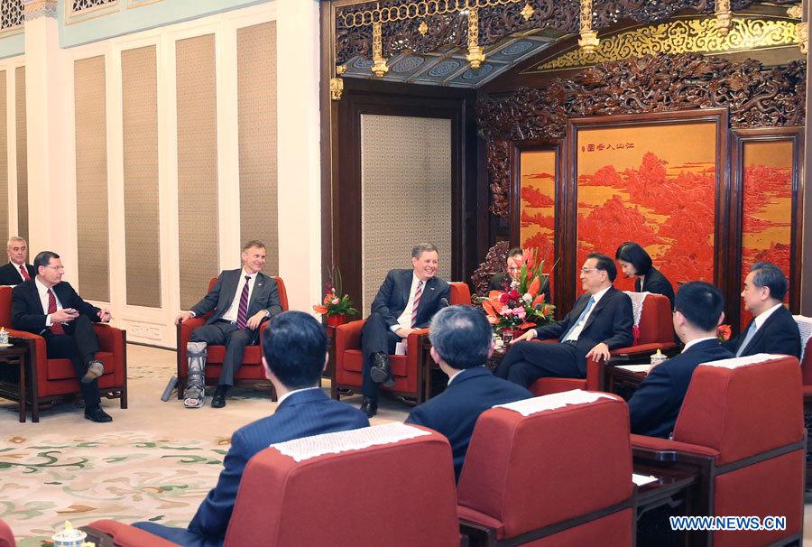 La Chine attend des progrès des négociations sur le traité d